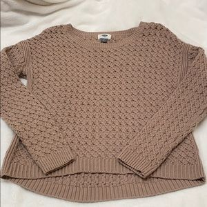 Old Navy//Nude Sweater